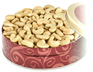 Terri Lynn Giant Cashew Gift Tin 1lb