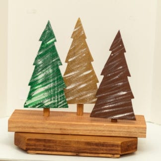 3 Piece Wooden Tree Set