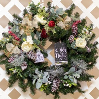 All is Calm – A Holy Night Christmas Wreath