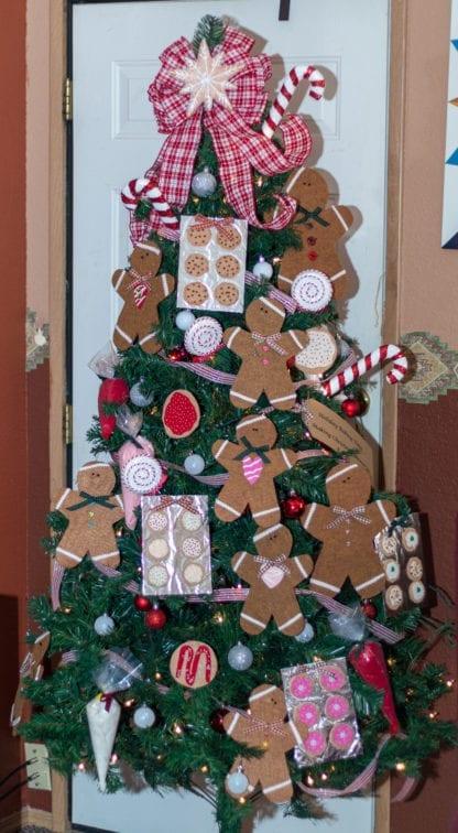 Ginger bread man Christmas tree