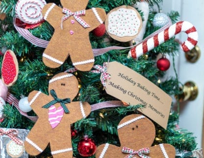 gingerbread men and cookies