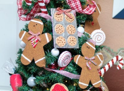 Gingerbread Man Tree