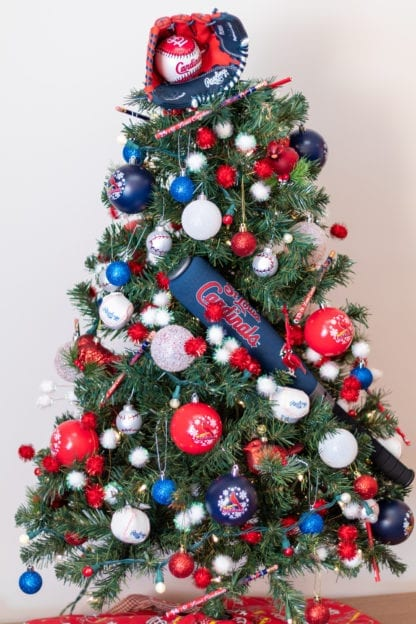 Cardinals Fans Christmas Tree Dream