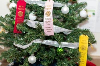 Morgan County Fair Ribbon Tree