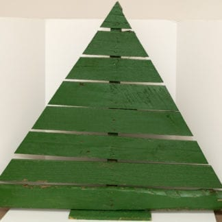 Wooden Pallet Tree Green