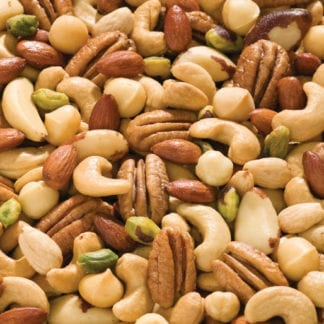 Deluxe Mic No Peanuts - Picture of mixed nuts from Terri Lynn